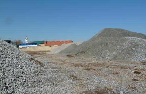Пескогравийные смеси (ПГС): песок, щебень, гравий